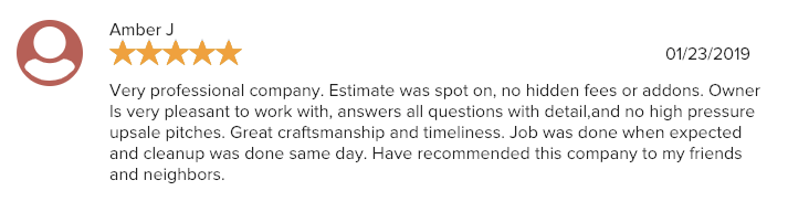 Thank you so much for your kind words, *****. We really appreciate you taking the time out to share your experience with us ! We count ourselves lucky for customers like you. We look forward to working with you again in the future!